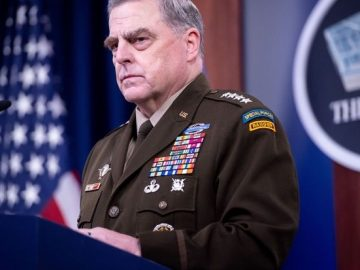 Fire and arrest Chairman of the Joint Chiefs Mark Milley